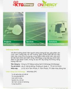 Company leaflet