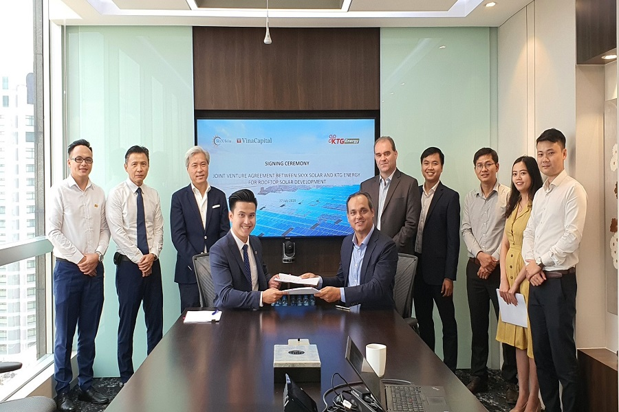 ON Energy được chỉ định là nhà thầu EPC trong thỏa thuận hợp tác giữa KTG Energy và VinaCapital trong việc phát triển điện mặt trời áp mái