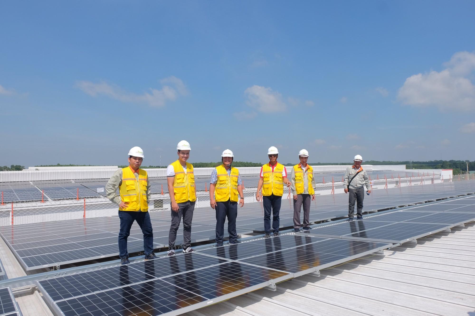 ON Energy nghiệm thu hoàn thành dự án điện mặt trời áp mái tại 3 nhà xưởng ở Đồng Nai