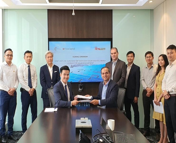 ON Energy is designated a EPC contractor for Cooperation among KTG Energy and VinaCapital in Rooftop Solar Energy Developing
