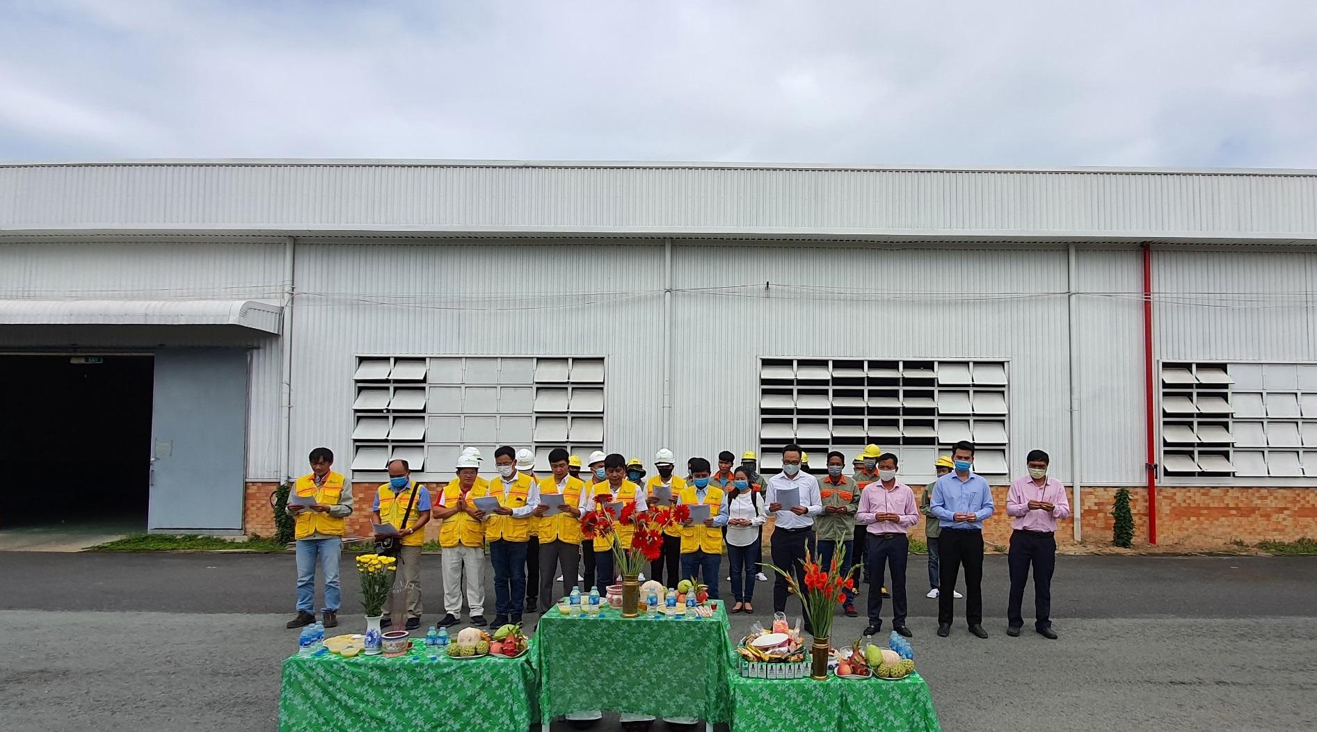 ON Energy khởi công xây dựng dự án JSC Nhơn Trạch Đồng Nai