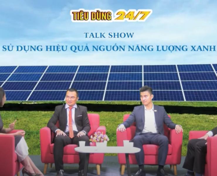 Talkshow Onenergy và giải pháp điện mặt trời áp mái cho Doanh Nghiệp