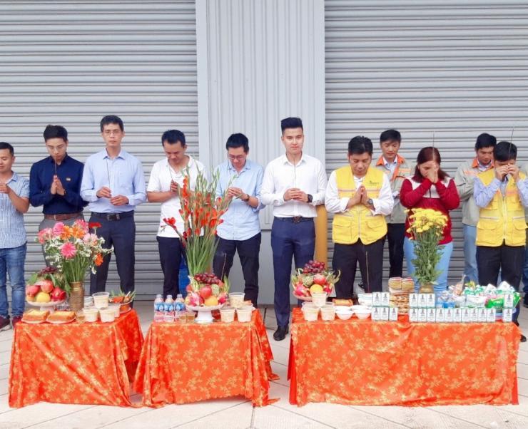 Khởi công dự án điện mặt trời 4MWp tại nhà xưởng Boustead Projects - Đồng Nai