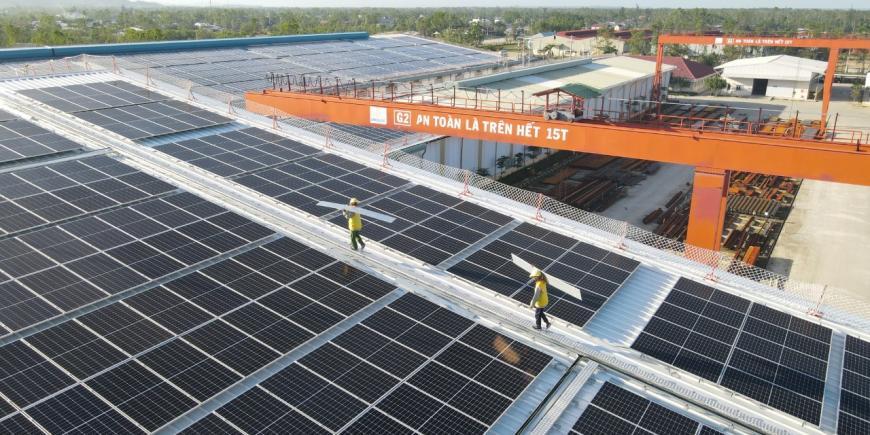 Dự án năng lượng mặt trời tại Đại Dũng Miền Trung