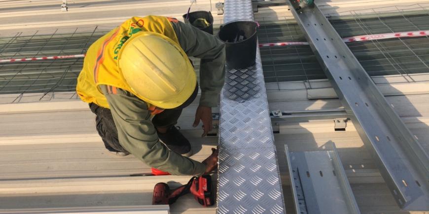 Dự án năng lượng mặt trời tại nhà máy thép Trường Phúc