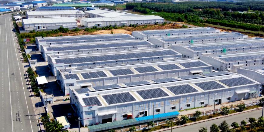 Dự án năng lượng mặt trời tại An Phước