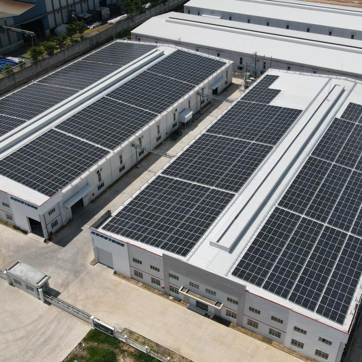 Dự án năng lượng mặt trời tại Nhơn Trạch 3A