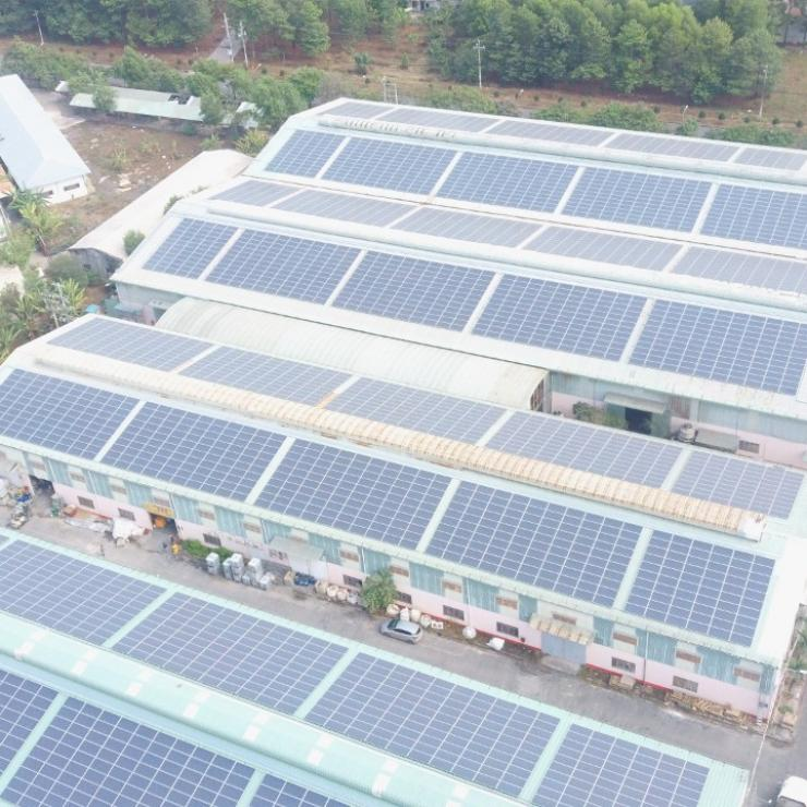 Dự án năng lượng mặt trời tại Tam Phước A
