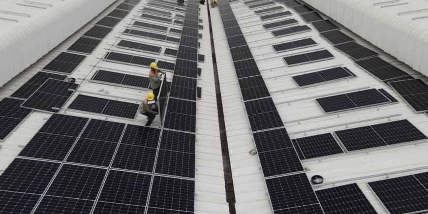 Dự án năng lượng mặt trời tại JSC