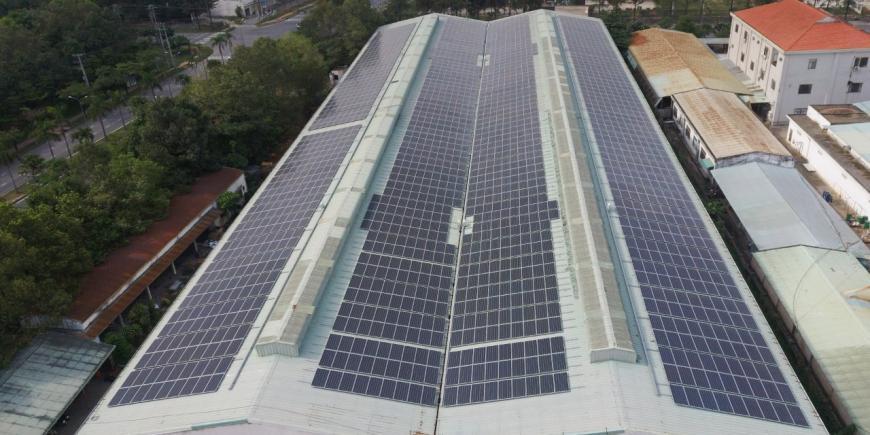 Dự án năng lượng mặt trời tại Tam Phước B